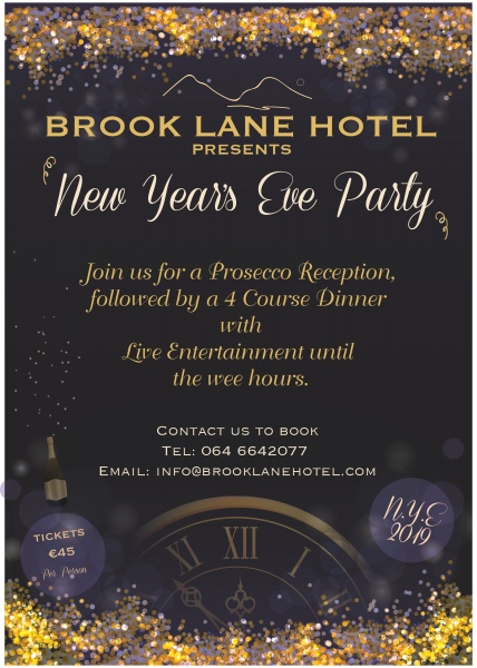 brook lane hotel nye 2018